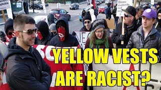 Wrecking Antifa's Anti-Yellow Vest Protest