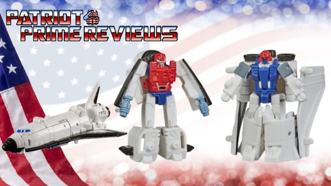 Patriot Prime Reviews the Transformers Earthrise Astro Squad