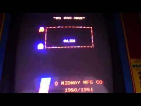 Ms. Pac-Man With Strange Ghost Names