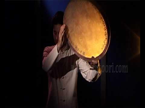 Kurdish Frame Drum (Daf ) Solo Performance & Sound Introduction on Pejman Hadadi Dafs