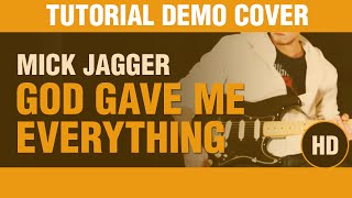 Como tocar God Gave Me Everything de Mick Jagger en guitarra, DEMO COVER
