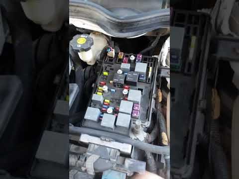 chevy cobalt a/c blower motor fuse in main fuse block