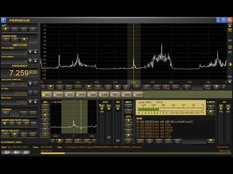 Nice signal! 7259.93kHz Radio Vanuatu. Received in JAPAN