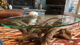 Driftwood Coffee Table. Www.alldriftwoodfurniture.com