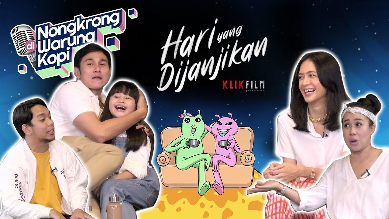 Nongkrong Di Warung Kopi Bareng Cast Film Hari Yang DiJanjikan