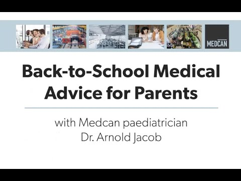 Back to School Medical Advice for Parents
