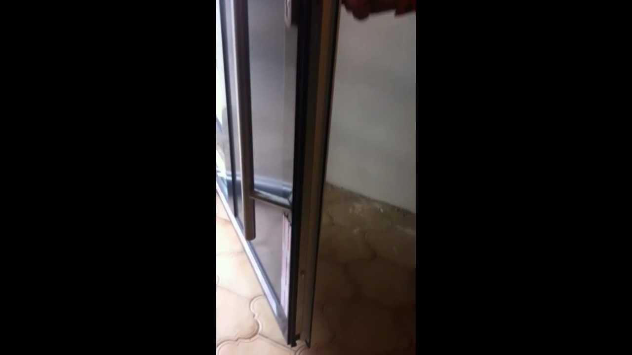 aluminium haust r 3 fach verriegelung doorwebshop og youtube. Black Bedroom Furniture Sets. Home Design Ideas