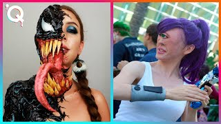 Halloween Makeup Artist Who Are At Another Level ▶ 4