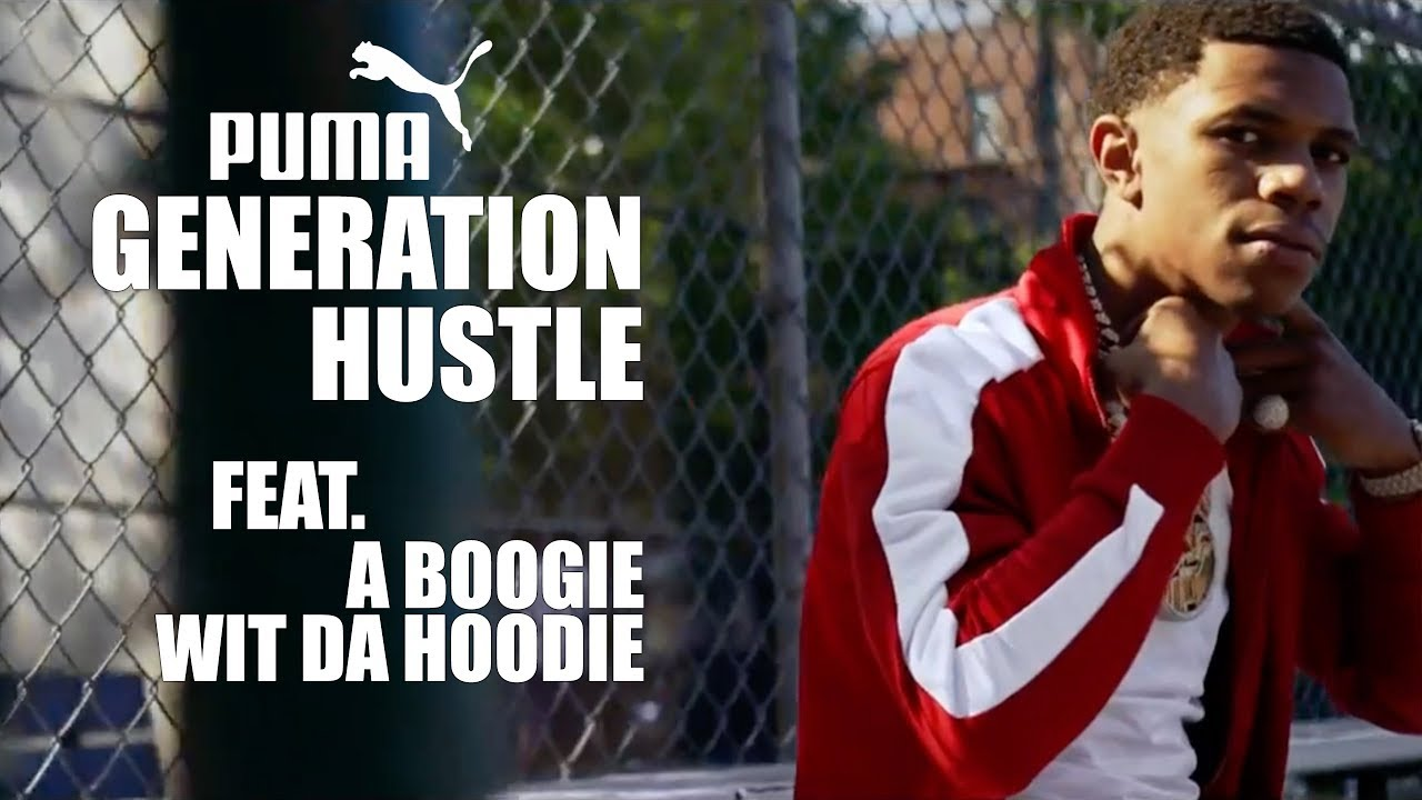 A Boogie Wit Da Hoodie Embraces His Hustler's Spirit With PUMA