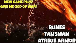God of War- Runes & Talisman Set for New Game Plus Atreus Armor!! Give Me God Of War!