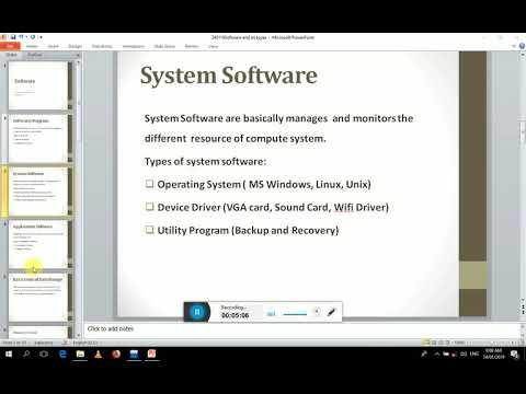 System Software Application Software, Operating System, Device Driver, Utility Program Application S