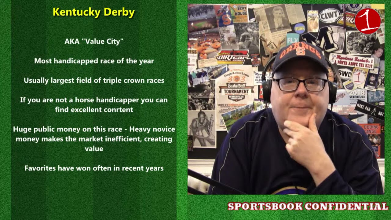 SPORTSBOOK CONFIDENTIAL: Kentucky Derby & NASCAR/F1 weekend (podcast)