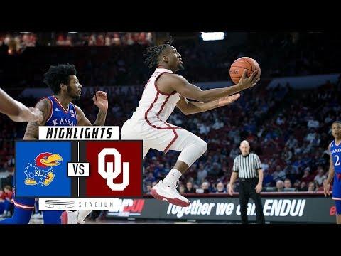 No. 13 Kansas Vs. Oklahoma Basketball Highlights (2018-19) | Stadium