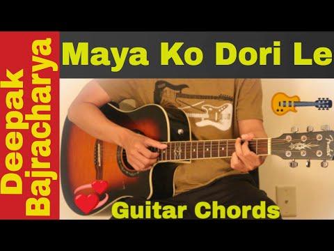 Samjhana Birsana - Guitar chords | lesson