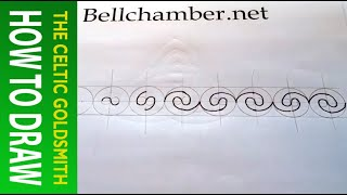 How to Draw Celtic Patterns 102 - Labyrinth, Double spiral in a line 2of2