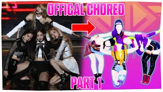 TOP 12 Official Choreography Steps on Just Dance
