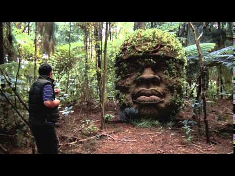 Matchmoving - Olmec Head in the Forest