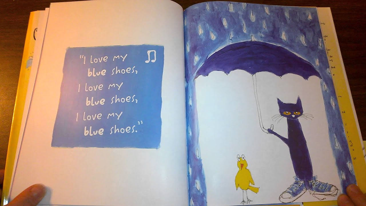 Kindergarten Read Aloud Of Pete The Cat I Love My Whites