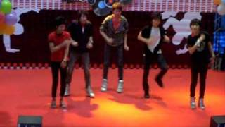 A+ Ring Ding Dong (Shinee Cover Dance) @N Mark Plaza 1.09.2010