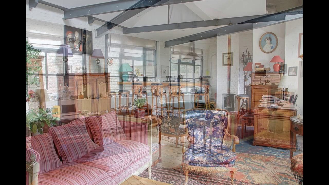 maison plain pied type loft industriel à vendre à la chapelle d ...