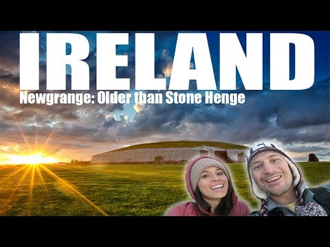 INCREDIBLE IRELAND ROADTRIP - Newgrange...