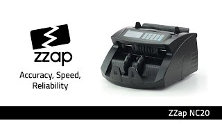 ZZap NC20 Banknote Counter & Counterfeit Detector Machine