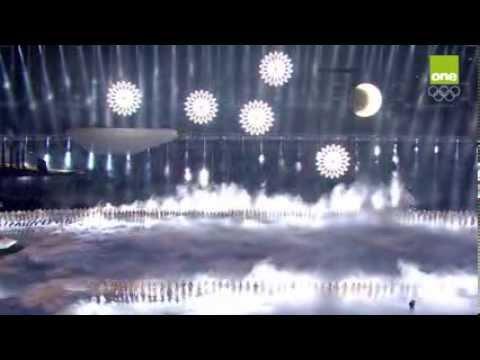Sochi Olympics Rings Fail - Opening Ceremony 2014