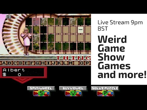 Weird Game Show Games and More!