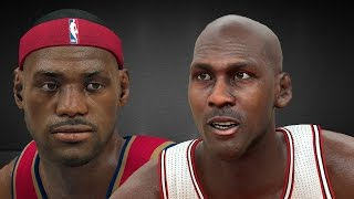 NBA2K17 - All-Time Cavs vs. All-Time Bulls