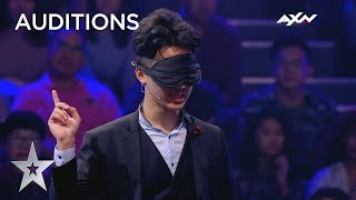 How Did Magician David Feng Predict The Future?! | Asia's Got Talent 2019 on AXN Asia