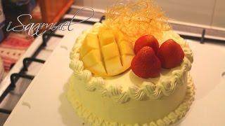 Fresh Fruit And Cream Birthday Cake | Recipe