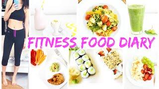 FITNESS FOOD DIARY 🍒 SCHLANK DURCH DEN SOMMER | DIY EIS, GREEN SMOOTHIE, FRÜHSTÜCK #VaniaMakesYouFit