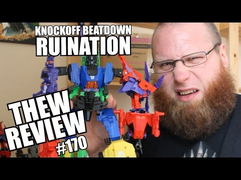 Knockoff Beatdown: Ruination | Thew's Awesome Transformers Reviews #170