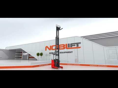 Xe nâng điện đứng lái Noblelift công nghệ châu Âu