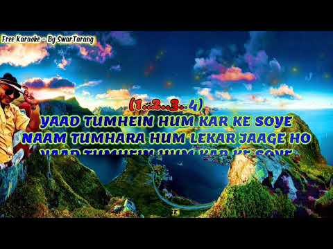 Hum Tumhe Itna | Tribute to Mohammed Aziz Ji | Male Karaoke | Sanya Shree