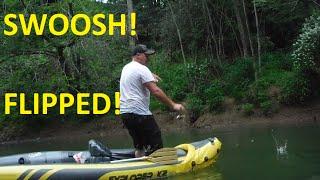 kayak flipped k2 intex explorer