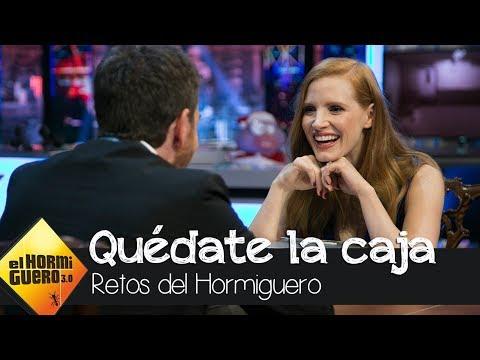 La picaresca táctica de Jessica Chastain para ganar a Pablo Motos - El Hormiguero 3.0