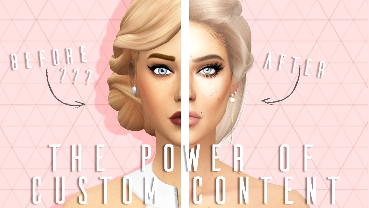 The Sims 4 The Power Of Custom Content Cc Links Download Sim