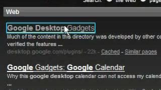Free Desktop Gadgets -Yahoo Widgets,Google Desktop,Klipfolio