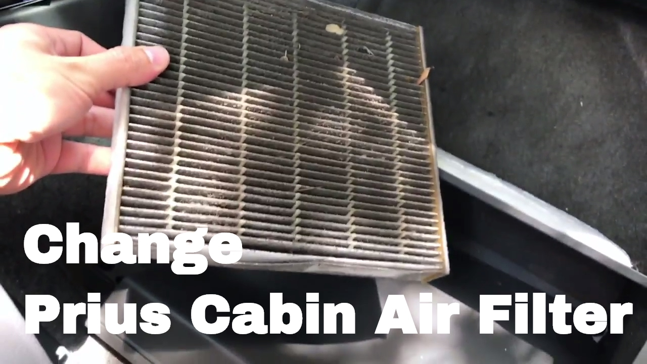 Merveilleux How To Change Or Replace 2010 Prius Cabin Air Filter 2010, 2011, 2012,  2013, 2014, 2015