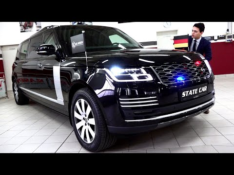 2020 Range Rover Sport Autobiography Armored | Presidential State Car Klassen Interior Exterior