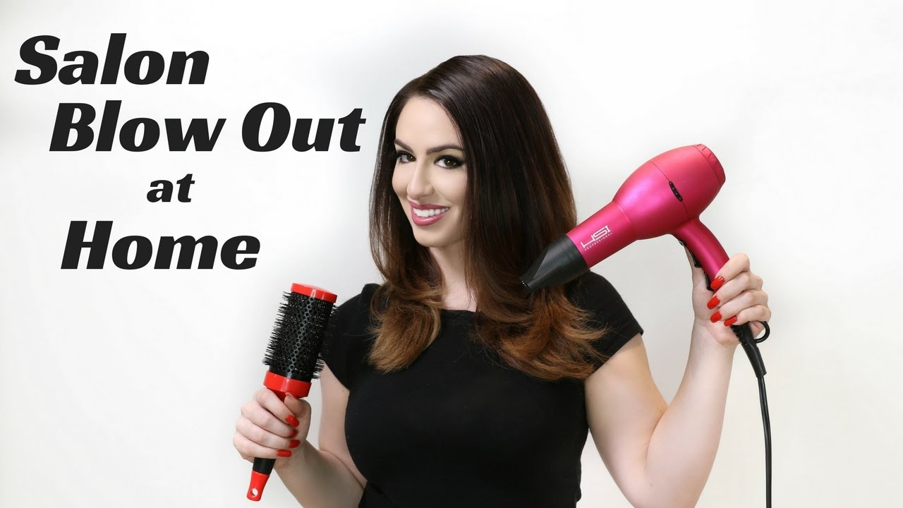 How to get a Salon Quality Blow Out at Home