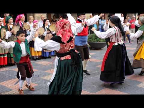 Asturian traditional folk dance / Áviles, Asturias, Spain
