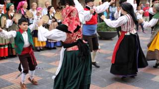 Asturian traditional folk dance / Áviles, Asturias, Spain