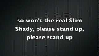 Eminem - The Real Slim Shady Lyrics (HD)
