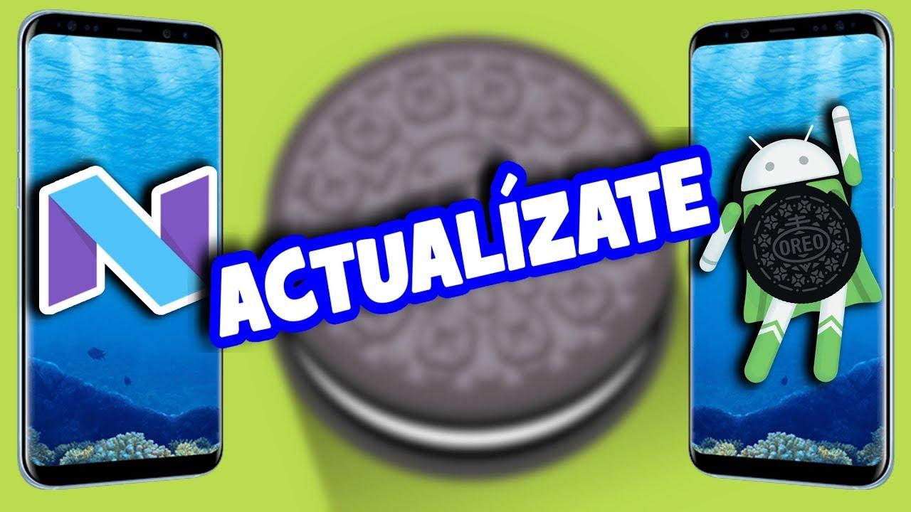 Girl Android Blazer 8 0 Design Oreo: Cómo ACTUALIZAR Cualquier SAMSUNG GALAXY A NOUGAT 7.0 Y