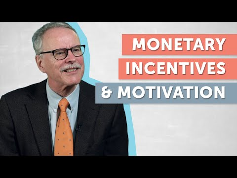 Monetary Incentives and Motivation explained by Bruno Frey