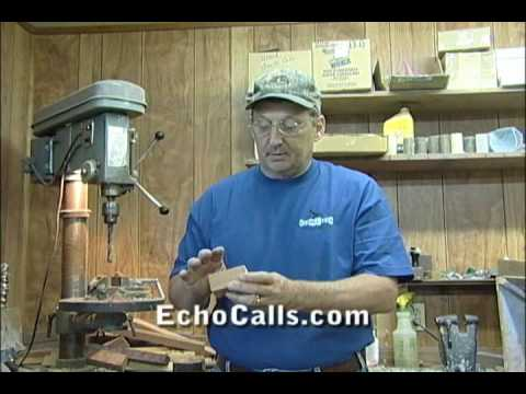 How to Make a Duck Call - World Champion Rick Dunn