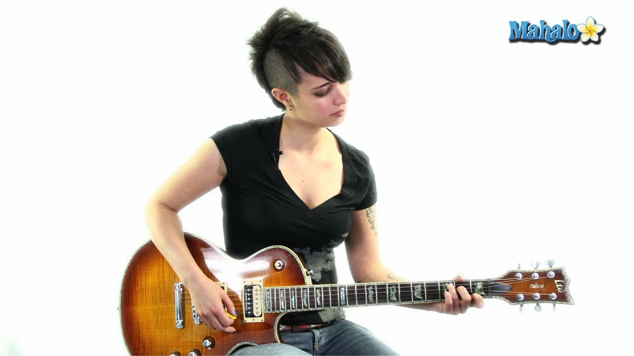 How To Play A C5 Chord In 3rd Position And 5th String Root On Guitar