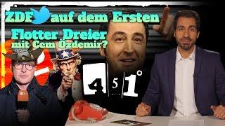 451 Grad || ZDF Korrespondent entdeckt Infokrieg | Özdemir will keinen Dreier || 24